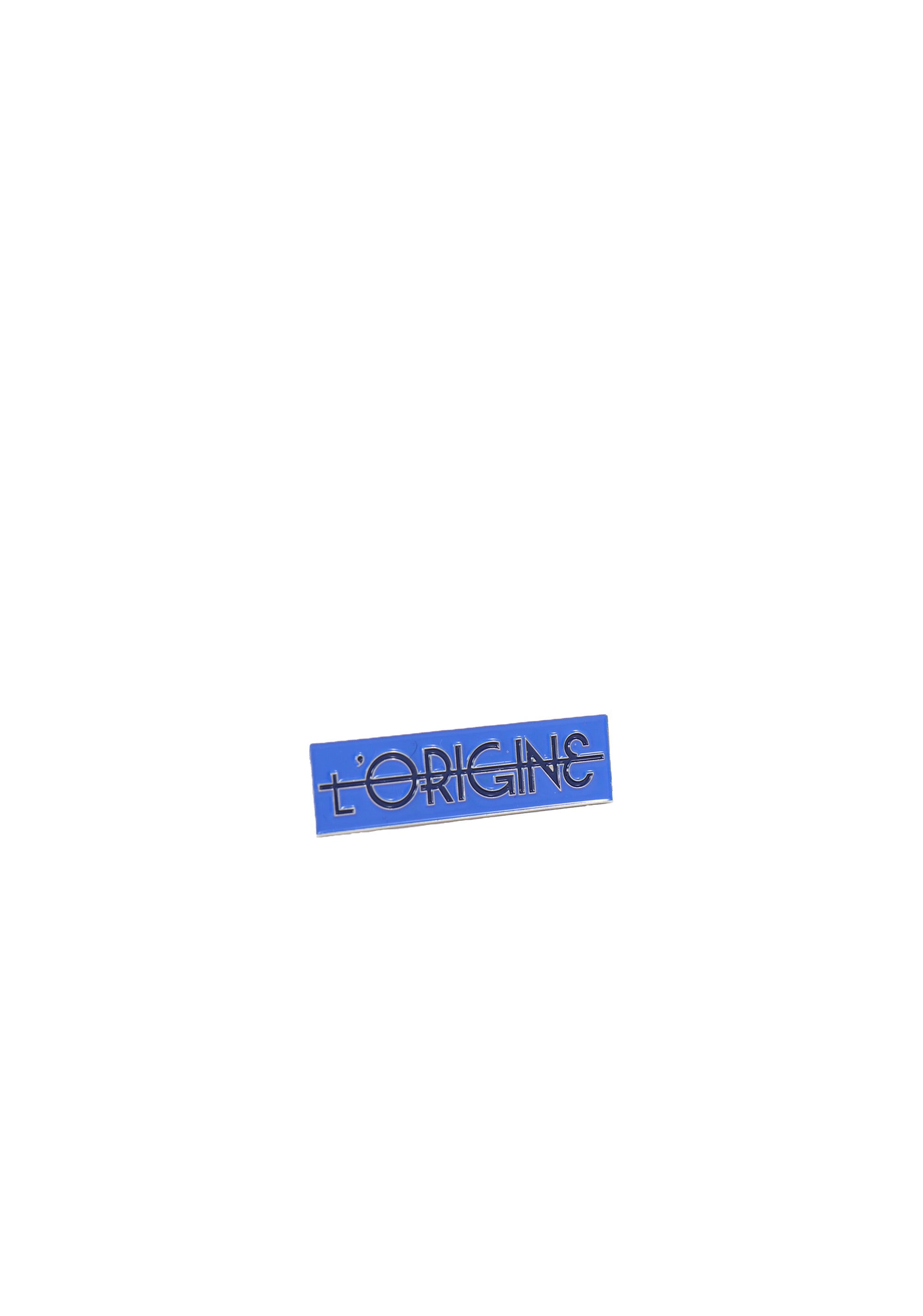 L'ORIGINE Blue Pin