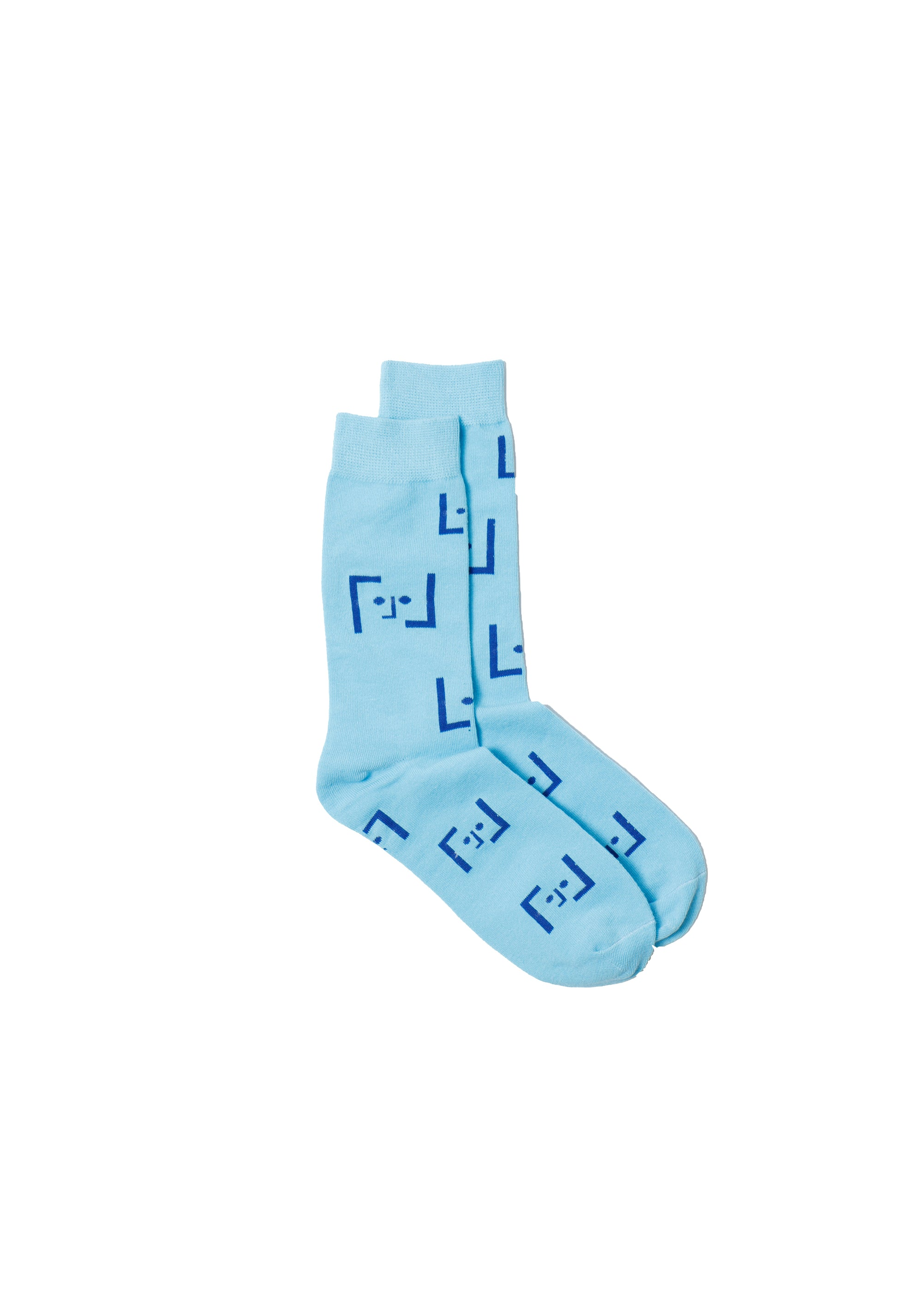 Socks L'origine L'Face Soft Blue