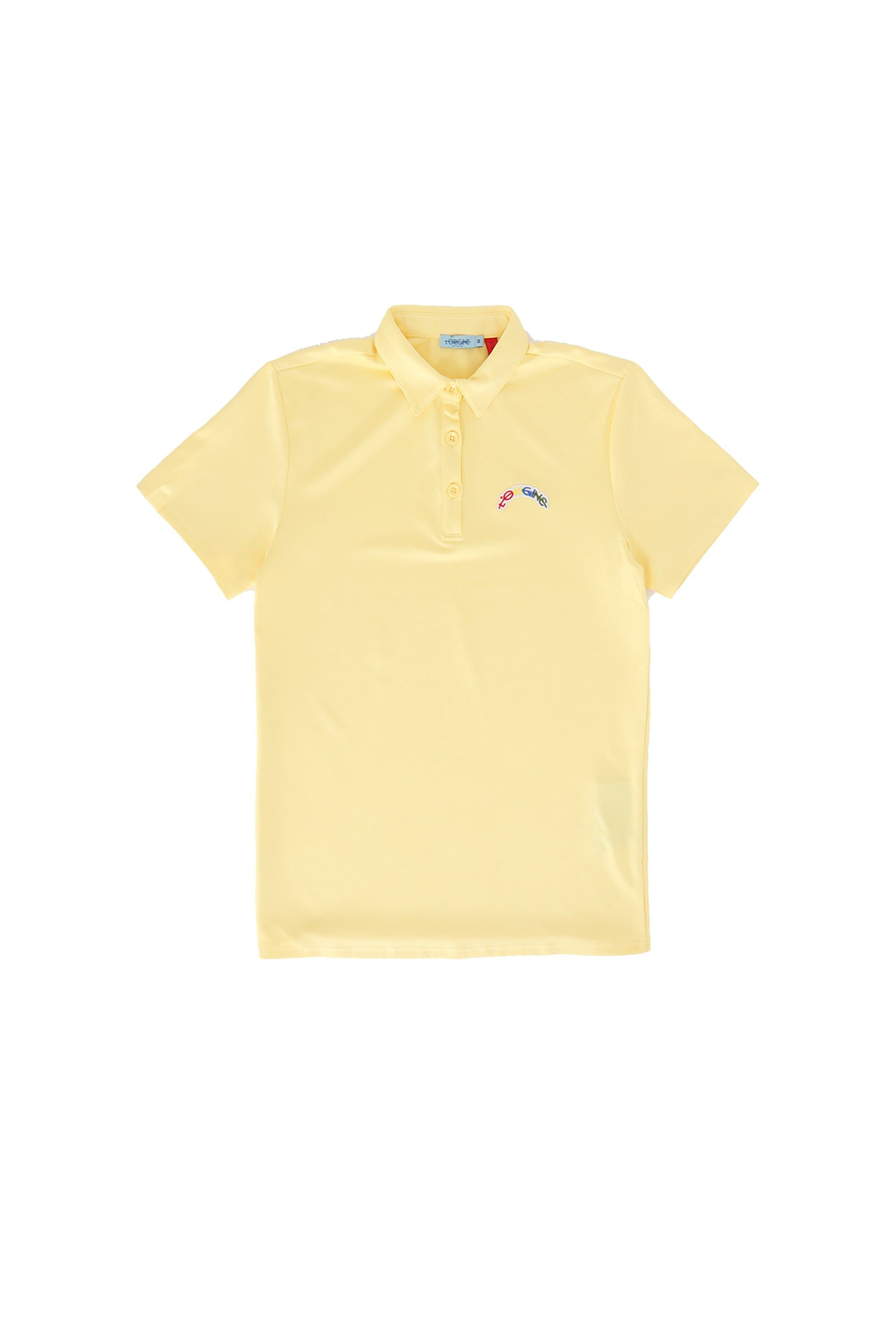 Polo L'ORIGINE Rainbow Yellow