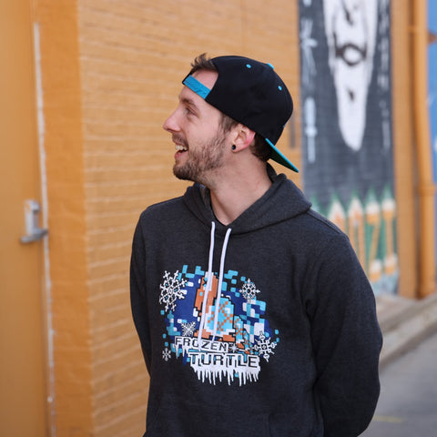 Frozen Turtle 'Blue Shell' Supersoft Hoodie