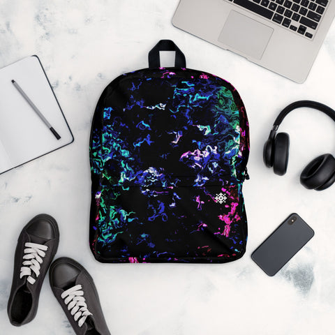 'Purple Reflections' Backpack