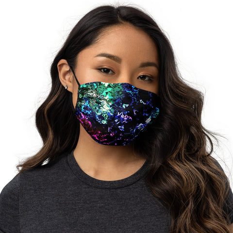 'Purple Reflections' Face Mask