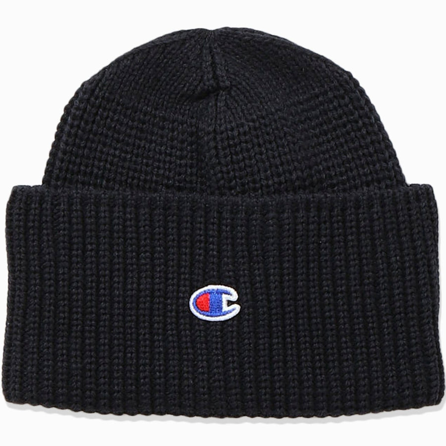 Champion RW C Logo Patch Recycled Beanie Hat