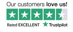 Rated Excellent of Trustpilot