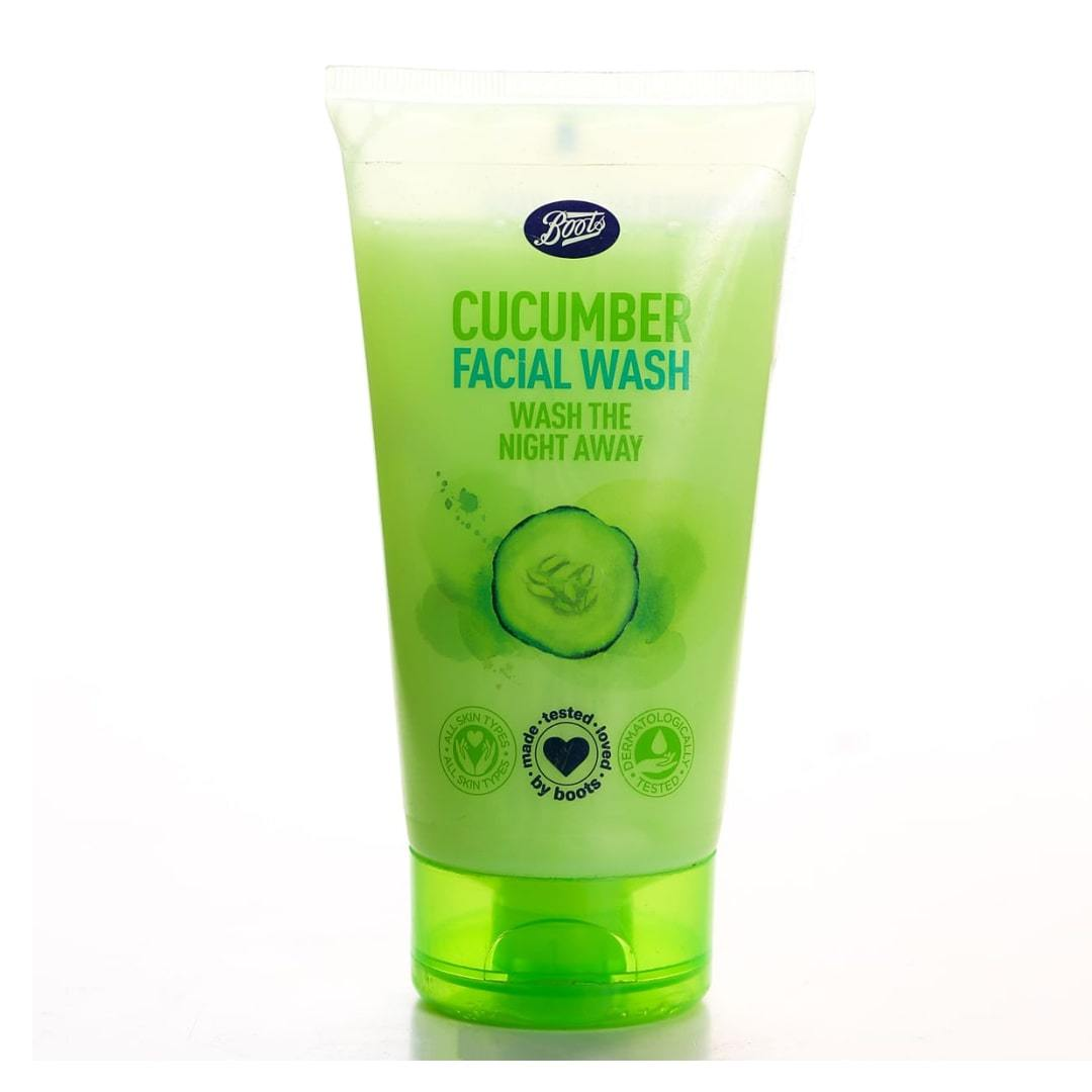 Boots Cucumber Facial Wash