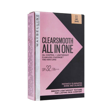 Maybelline New York Clear Smooth All In One Two Way Cake Refill
