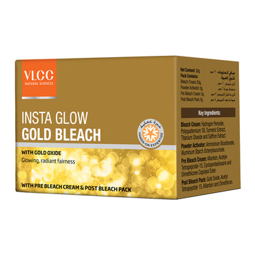 VLCC Insta Glow Gold Bleach Kit