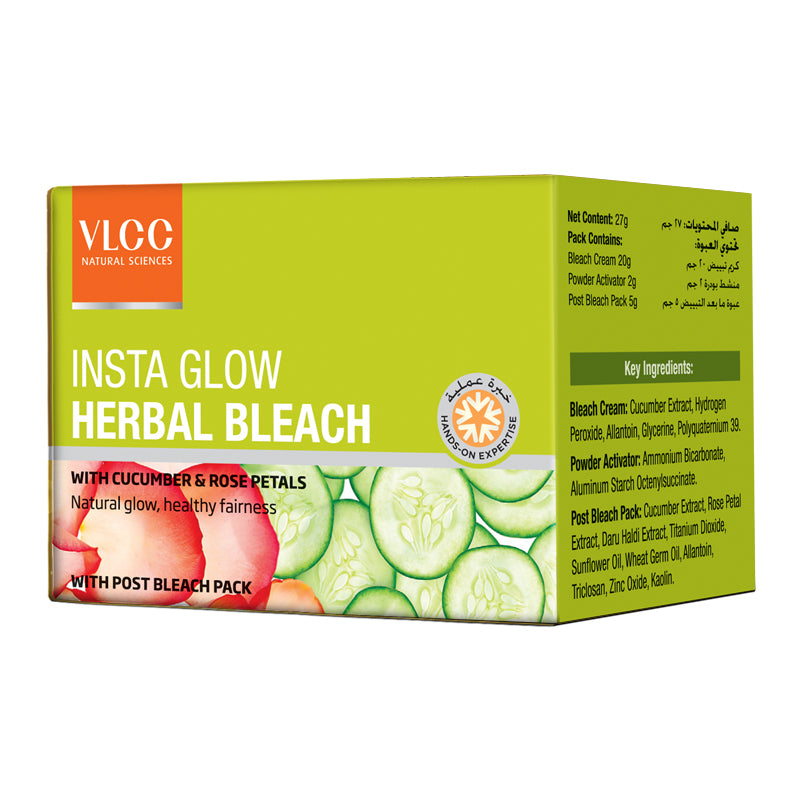 VLCC Insta Glow Herbal Bleach Kit