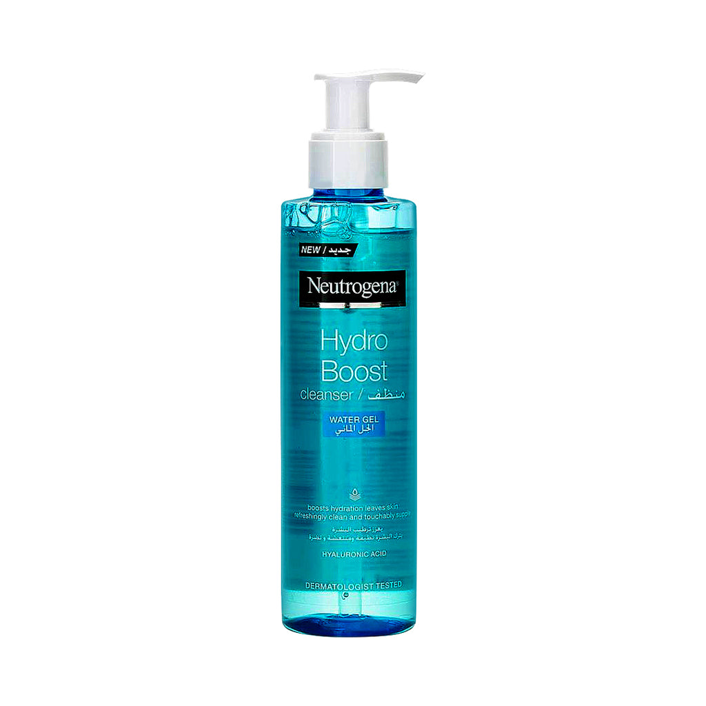 Neutrogena-Buy One Hydro Boost Cleanser Water Gel 200 ml + Get Free Pink Grapefruit Daily Scrub