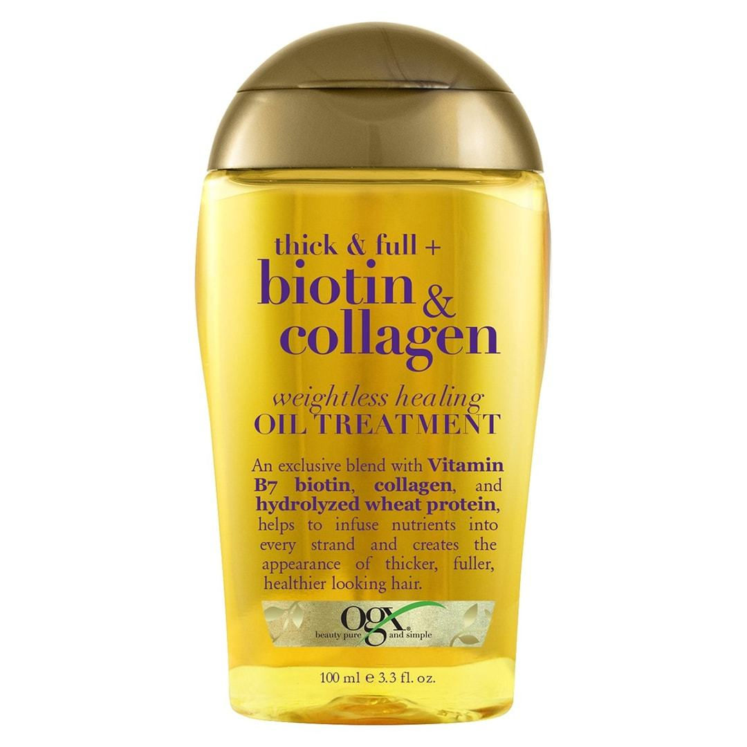 OGX Thick & Full BIOTIN & COLLAGEN OIL TREATMENT