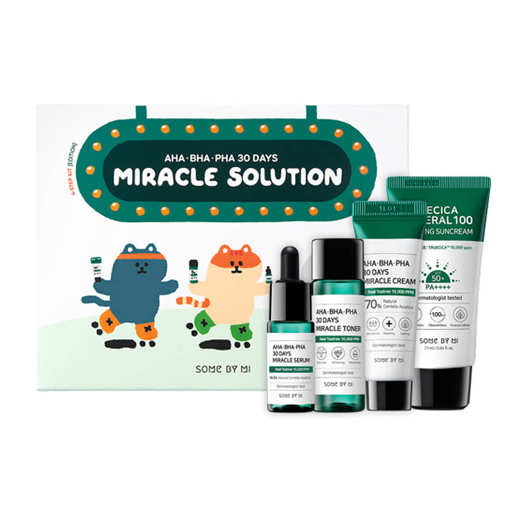 Some By Mi AHA.BHA.PHA 30 Days Miracle Solution 4-Step Kit