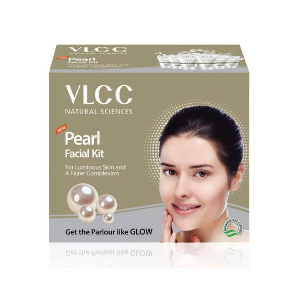VLCC Pearl Single Facial Kit TUBE PACK