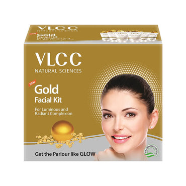 VLCC Gold Single Facial kit TUBE PACK