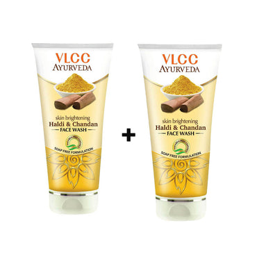 VLCC Skin Brightening Haldi & Chandan Face wash (Buy 1 Get 1 FREE)