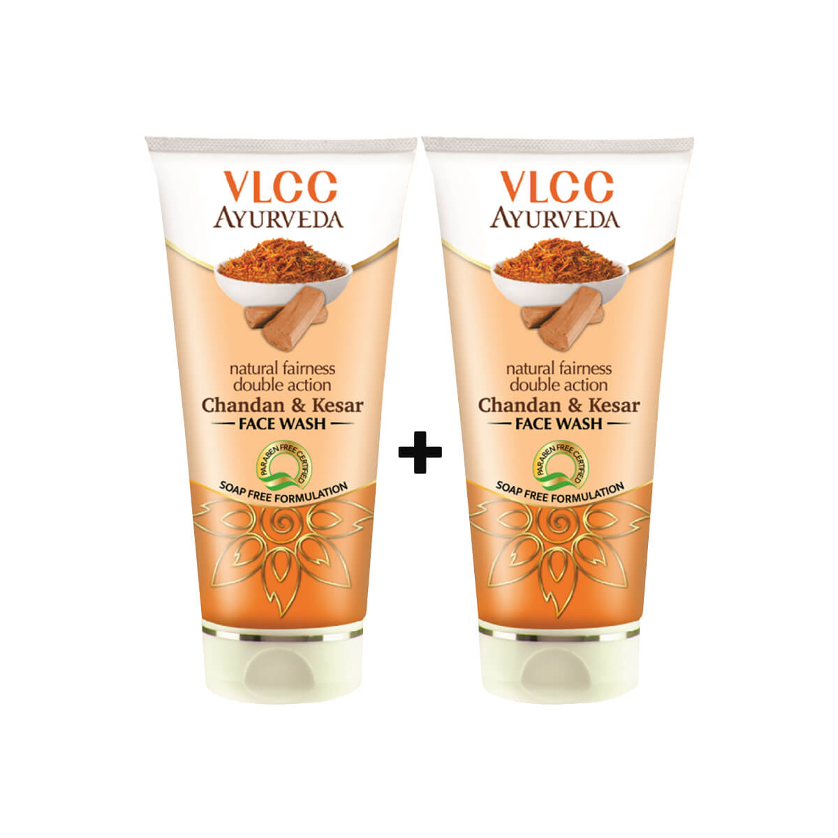 VLCC Chandan Kesar Face wash  ( Buy 1 Get 1 FREE)