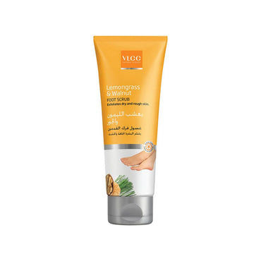 VLCC Lemon grass & Walnut Foot scrub