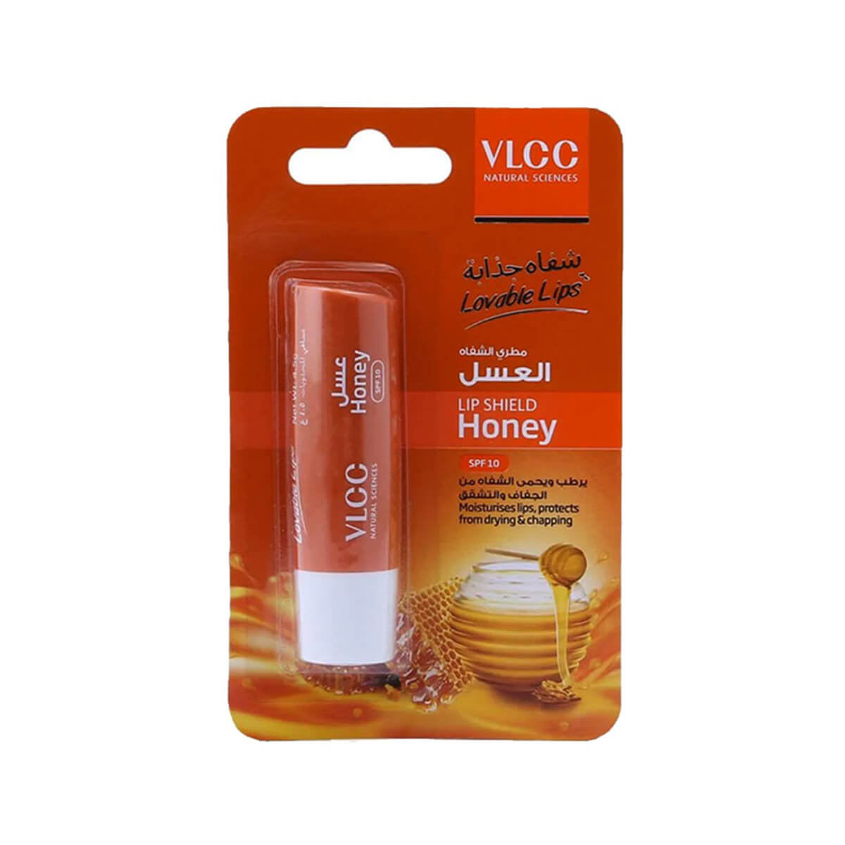 VLCC Lip Shield Balm Honey SPF 10