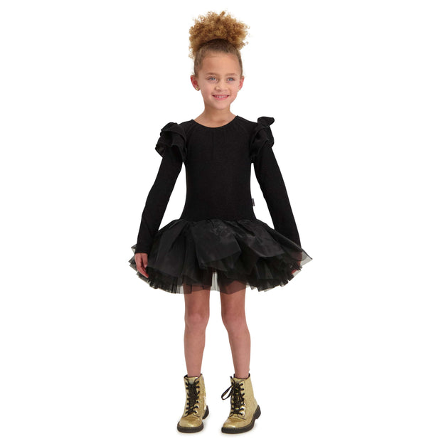 SPARKLE TUTU DRESS LONGSLEEVE