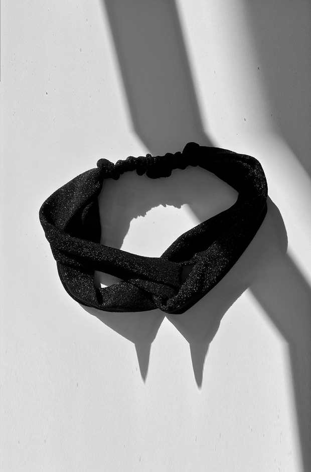 ALIA HEADBAND BLACK