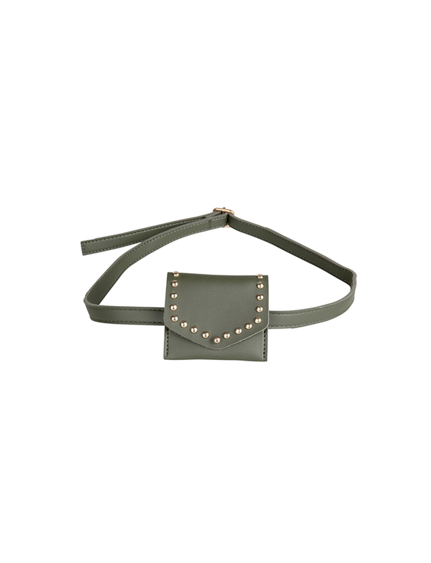 OLIVE BELT BAG MINI