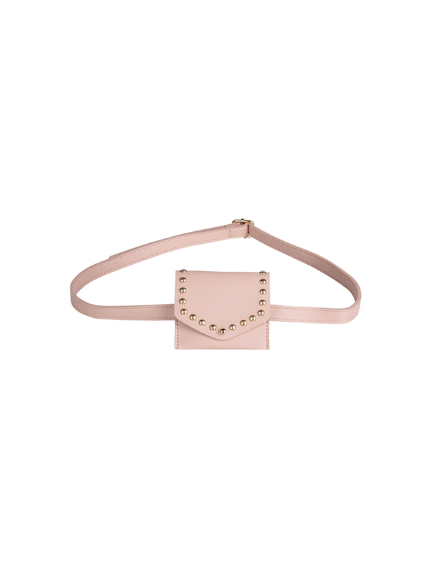 PINK BELT BAG MINI