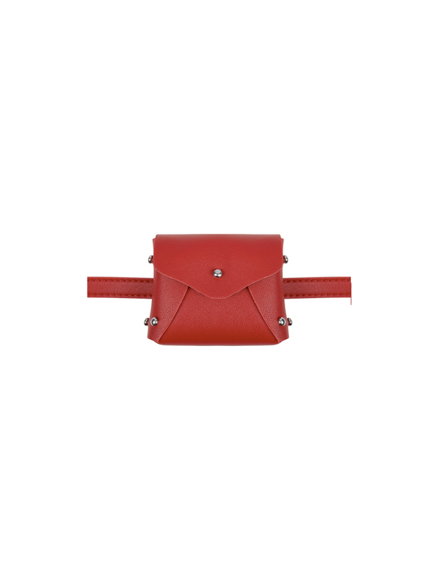 POCKET BELT BAG RED