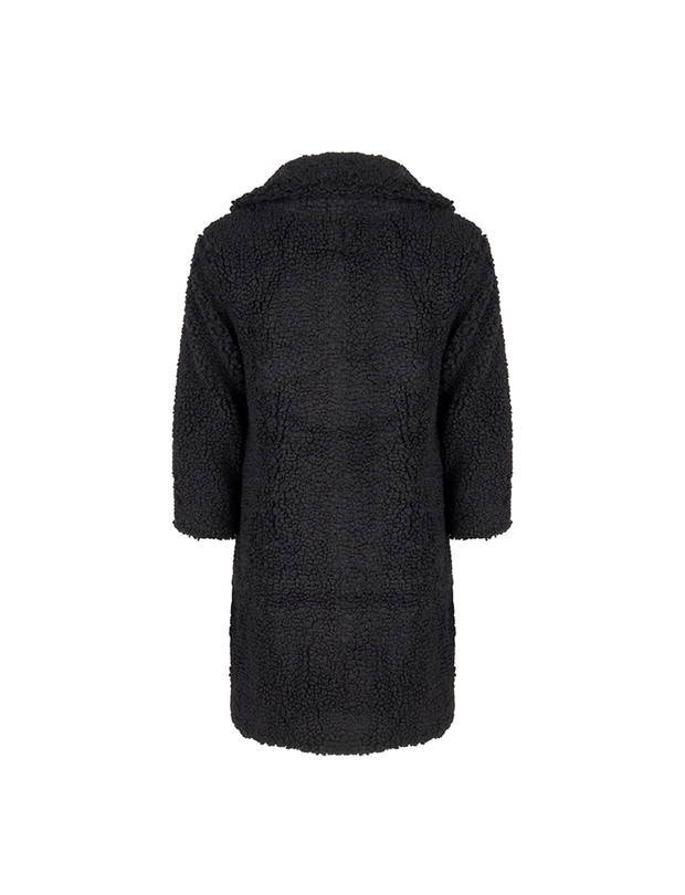 TEDDYCOAT BLACK