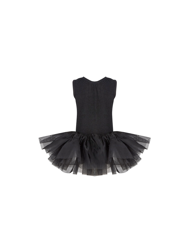 SPARKLE TUTU DRESS SHORTSLEEVE