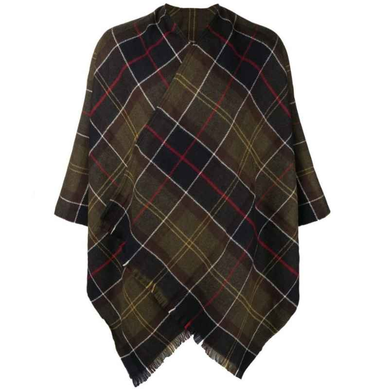 Barbour Staffin Classic Tartan Serape