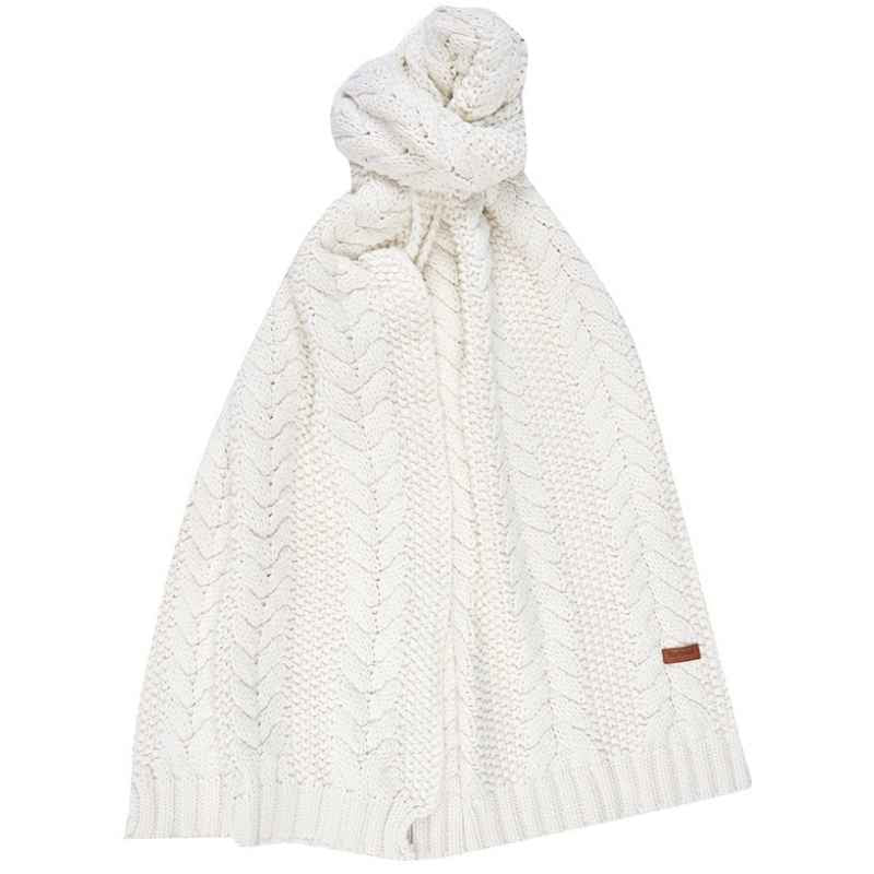 Barbour Cable Beanie & Scarf Set