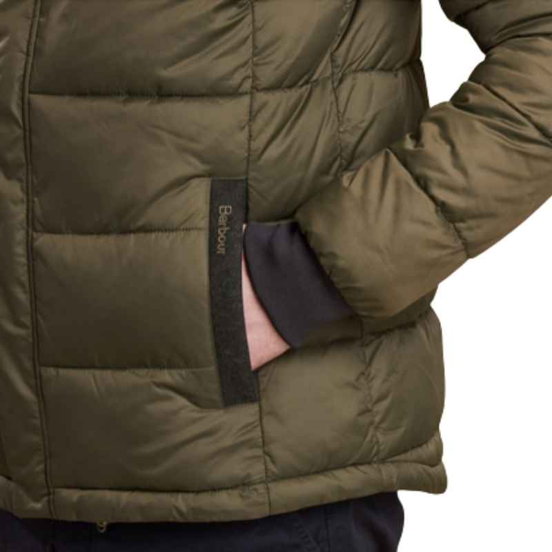 Barbour Hectare Baffle Quilted Jacket