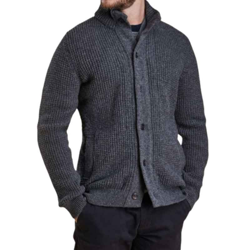 Barbour Helm Button Through Cardigan