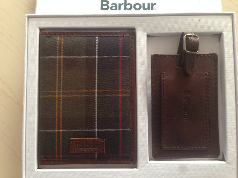 Barbour Tartan Travel Set