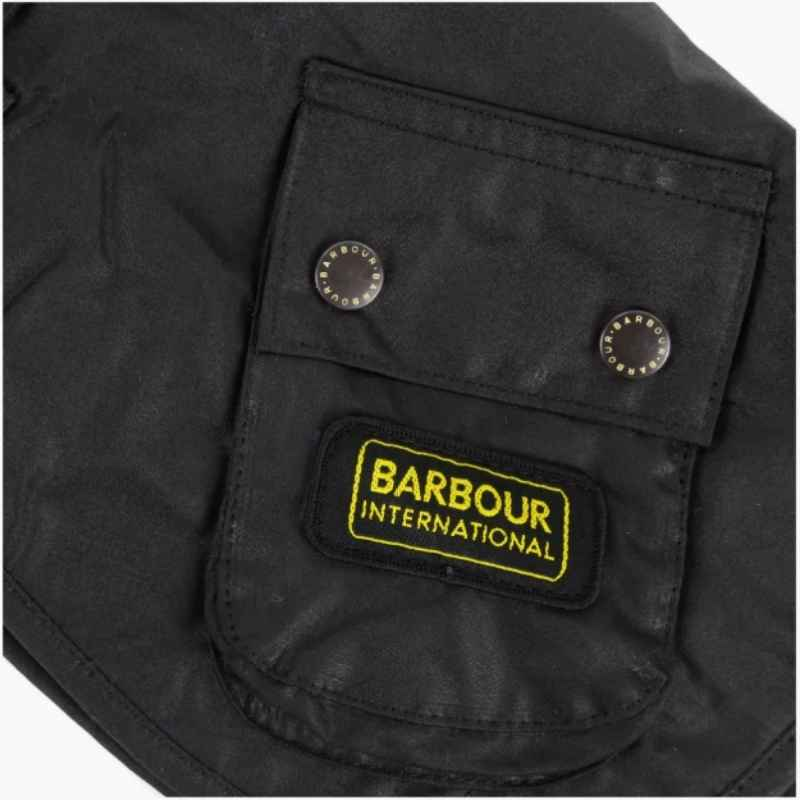 Barbour International Waxed Dog Coat