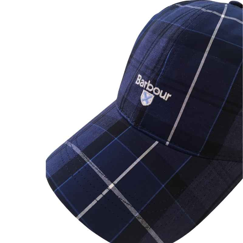 Barbour Tartan Sports Cap