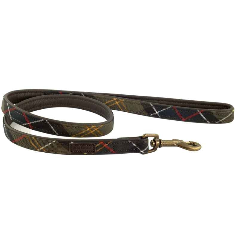 Barbour Tartan Dog Leash