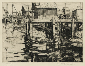 Jeannette Maxfield Lewis: Wharves