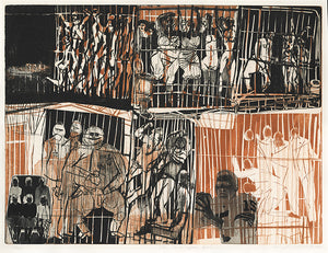 Warrington Colescott: In Birmingham Jail