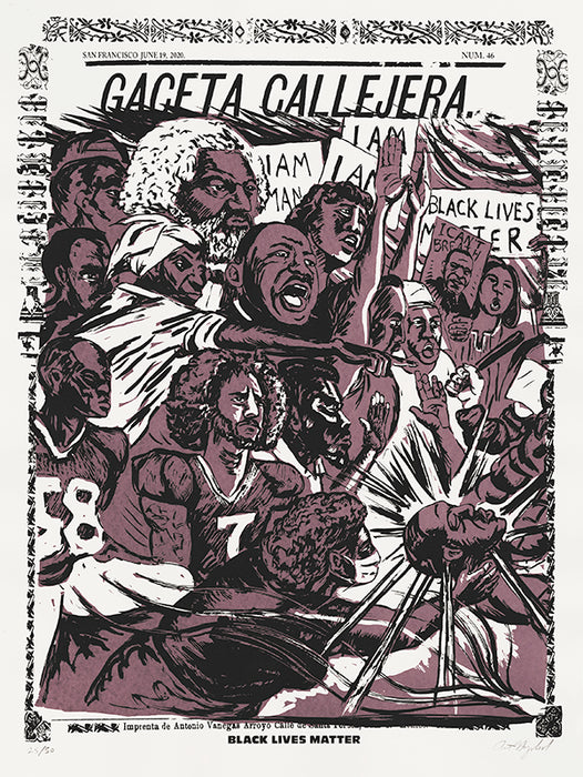 Art Hazelwood: Gaceta Callejera: Black Lives Matter