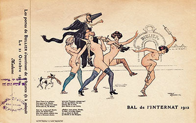 Various: Group of 6 Tickets for Bal de l'Internat