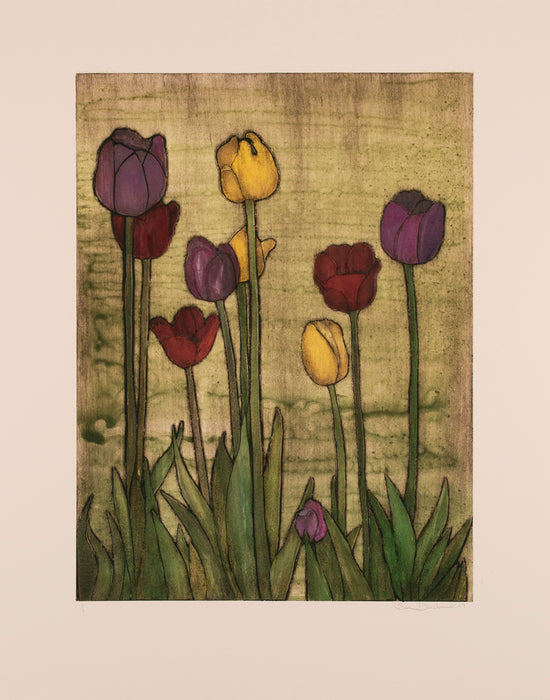 Sari Davidson: Little Shop of Tulips