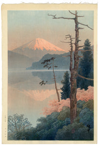 Ito Yuhan: Mt. Fuji from Taganoura Bay, Spring