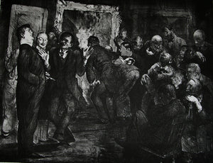 George Wesley Bellows: Artists Judging Works of Art