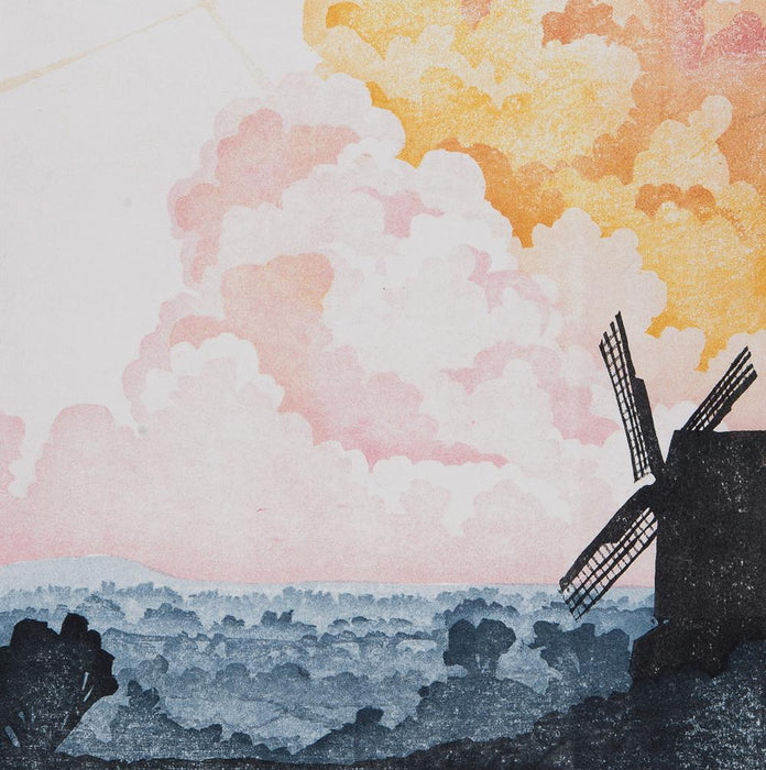 Laura Boswell: Twelve Views: Brill Windmill