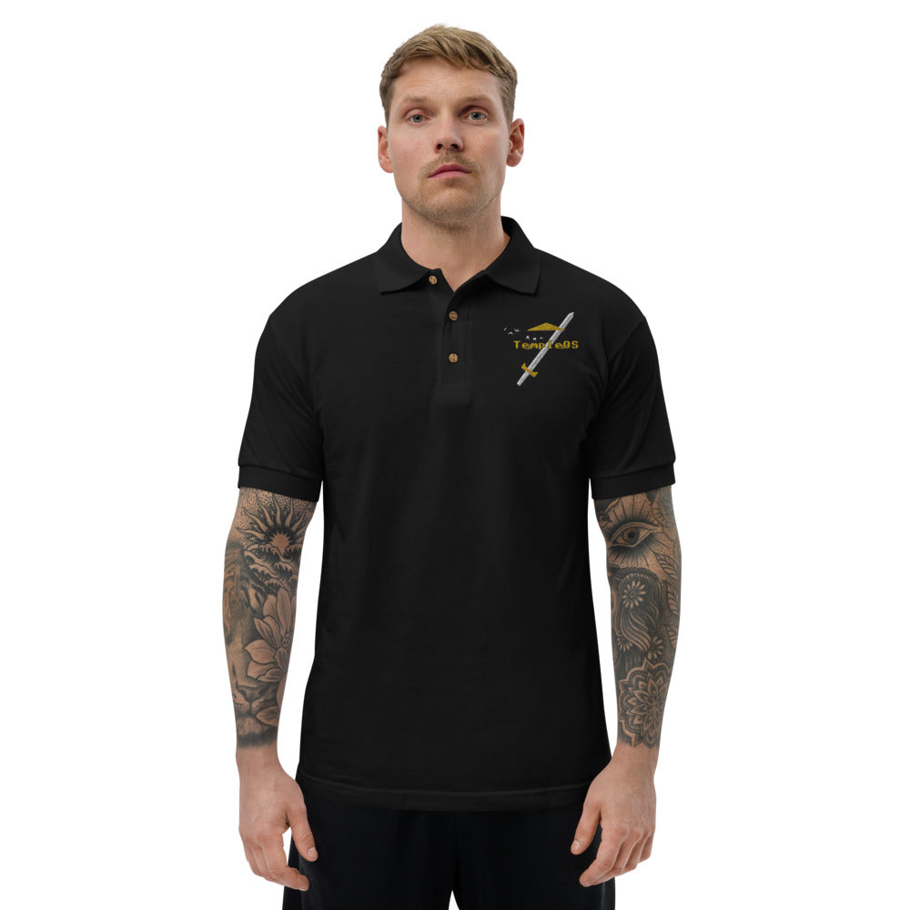 Temple OS ATF Proof Embroidered Polo