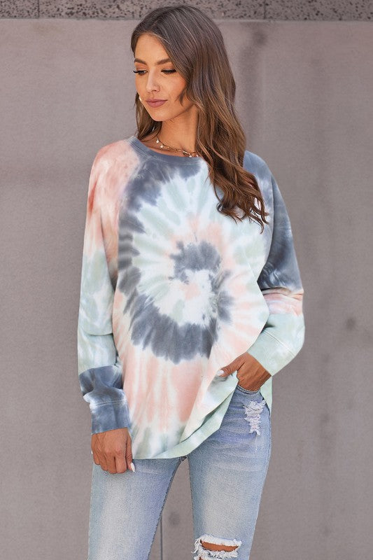 Long Sleeve Tiedye top