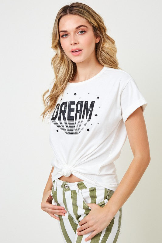 Off White Dream Tee