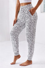 Load image into Gallery viewer, Leopard Print Self Tie Pants
