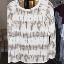 Load image into Gallery viewer, Long Sleeve Tie Dye Print Knit