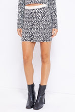 Load image into Gallery viewer, Animal Graphic Sweater Mini Skirt